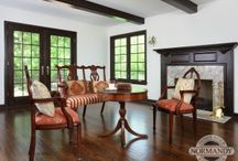Ceiling Ideas / Ceiling styles can impact the overall style of any space. Tray, vaulted, coffered and beams.