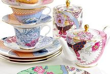 Dishes    of many designs and colors / by Sandee Dusbiber