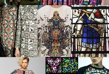 Stained glass fashion