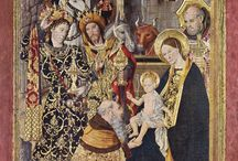 Jaime Huguet ~ Gênios da pintura ~ Estilo Gótico