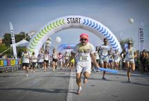 The Color Run 2014 Marina di Pietrasanta / Our team joined this beautiful and colorful run !