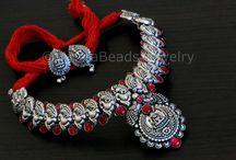 Temple Jewelry /  Handmade jewelry, Handmade Necklace, Temple jewelry, temple necklace, Indian jewelry, South indian jewelry