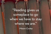about reading... and finding something. to get inspired from....