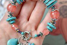Bracelets, pulseras,  jewelry, joyería, piedras semipreciosas, semi precious stones, / Pulseras hechas con piedras semi preciosas.  Bracelets made with semi precious stones