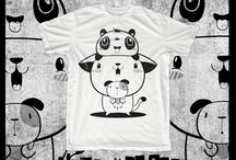 T-shirts Design / Not only Ogres bring cute monsters with attitude to your t shirts