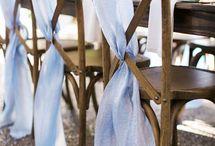 Свадьба в небесно голубом