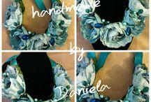 handmade flower necklaces