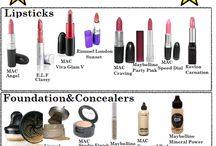 High end make up dupes