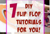 Flip flops and summer season