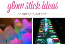 Glow stick ideas