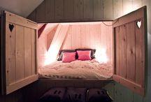 Schlafzimmer / Koje