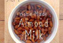 Mandelmælk og opskrifter