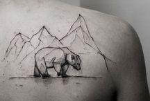 Tatuaggi con orso