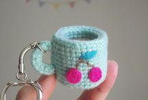 Crochet eten/food/comida