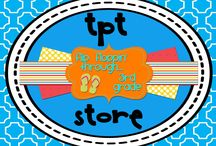TPT Store / Flip Floppin' Through...3rd Grade TPT Store