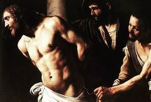 Happy Easter  Flagellation Christ by Caravaggio, 1606-1607