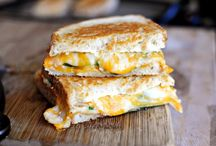 grilled cheeses  / so many  / by Courtney Danner