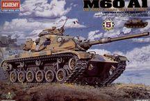 Academy, 1/48, Military Vehicles kits