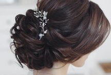 wedding hair for Amy