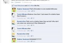haikyuu FB meme and headcanons