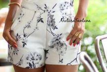 shorts casuais