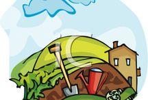Ленивый огород - Lazy garden / Все о том, как работать на огороде не убиваясь - All about how to work in the garden not Obuasi