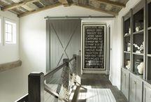 Farmhouse Interiors / Interior design and style.