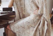 Ponchos, shawls