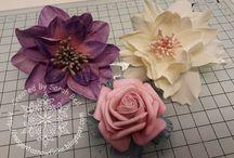 Sarah Bell's Foamiran Flowers