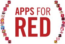 #AppsforRED / WOW. This is huge.  This World AIDS Day Apple is launching their biggest ever fundraising push for (RED). In a world first, the App Store℠ has turned (RED) with Apps for (RED).   Starting today until December 7th, 25 fan-favorite apps are offering exclusive new and creative content where all proceeds will go directly to the Global Fund to fight AIDS.  / by (RED)