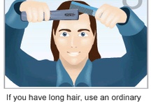 HairMax Tutorial / A quick start guide to using the HairMax LaserComb, the first and only FDA cleared home-use medical device to promote hair growth and treat certain pattern hair loss. / by HairMax
