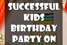 Everything Kids' Parties / Kids' party ideas from A to Z - themes for kids' parties, party snack recipes and ideas, cute and easy crafts, gift ideas for different ages, etc.