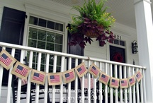 Patriotic / Fourth of July & Memorial Day Decor