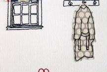 tekstile teknikker / i utradisjonell form