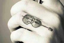cello tattoos