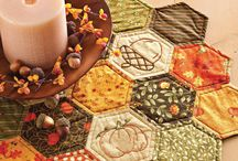 Fall quilts patchwork