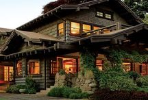 Craftsman, Bungalow's & Arts And Crafts Style / Architecture, Interiors & Furnishings / by Tom Pollock
