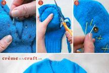 Wool mittens / by Diane Sharp