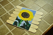 popsicle sticks woodl fun / by Dianne Sikes
