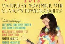 Sou West Vintage Fest 2013 / It's on again!9th November at Clancys Fish Pub,Dunsborough. Vintage Fun,Markets & A Pin Up Competition.