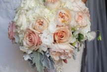 Soft colored bouquets