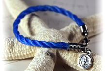 Nautical Rope Bracelets / Hand-made bracelets made from recycled marine rope debris salvaged from the beaches of the Bahamas.