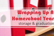 Homeschool Record Keeping & Storage