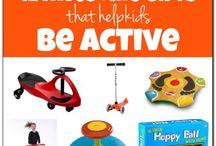 Active Kids Toy Ideas