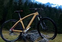 Samorost wooden bikes / Custom handmade wooden bicycles