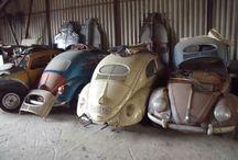 Patina on cars / Abandoned Cars