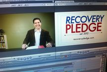 Recovery Pledge - Pitch Video Pics / Behind the scenes