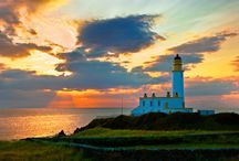 lighthouses / by Katie Chadwick