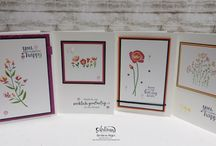 Stampin Up - Flirty Flowers