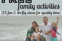 Family time and craft ideas